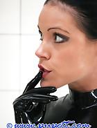 Extreme rubber bondage, pt.1