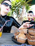 Slaves drinking