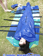 Latex body bag