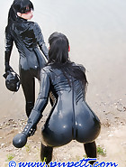 Latex swimming
