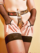 Jill Diamond in chastity