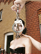 Handcuffs punisment