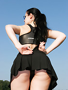 My hip chastity belt