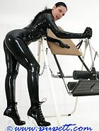 Extreme rubber bondage, pt.1, pic 1