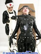 Extreme rubber bondage, pt.1, pic 12