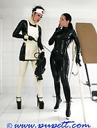 Extreme rubber bondage, pt.1, pic 2