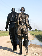 Spring walk in rubber, pic 11