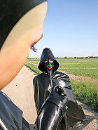 Spring walk in rubber, pic 3