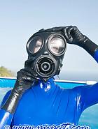 Swiming in latex, pic 3