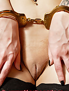 Kimberly in handcuffs, pic 6