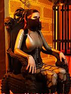 Strict Lady Alexiel, pic 1