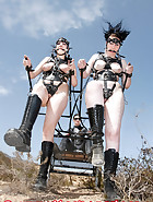 Ponygirls for a ride, pic 8