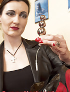 Chastity belt with electro stimulation plug, pic 6