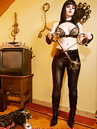 Jill punished by Spooky, pic 14