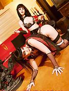 Jill Diamond in chastity, pic 7