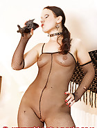 Transparent latex catsuit, pic 2