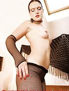 Transparent latex catsuit, pic 3