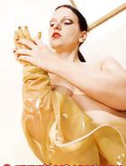 Transparent latex catsuit, pic 10