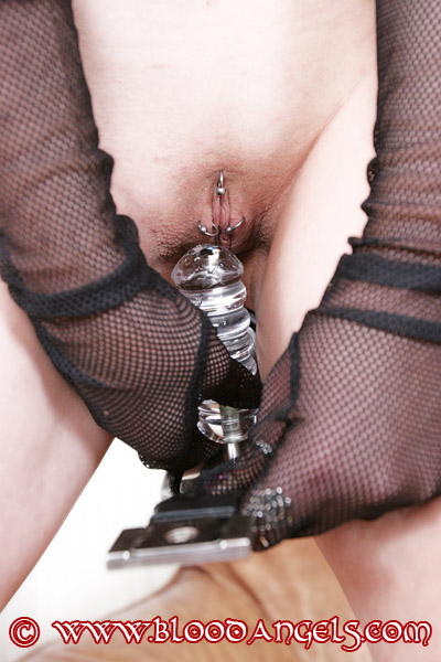Dildo female chastity belt