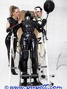 Extreme rubber bondage, pt.2, pic 14