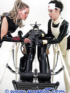 Extreme rubber bondage, pt.2, pic 10