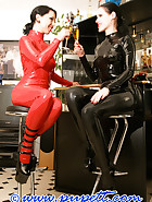 A warm summer evening in rubber, pic 1