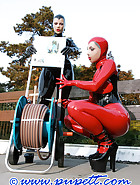 A warm summer evening in rubber, pt.1, pic 7