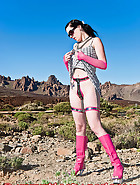 The pink chastity device, pt.4, pic 8