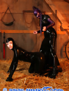 Stabled rubber pony girl, pt.2, pic 5